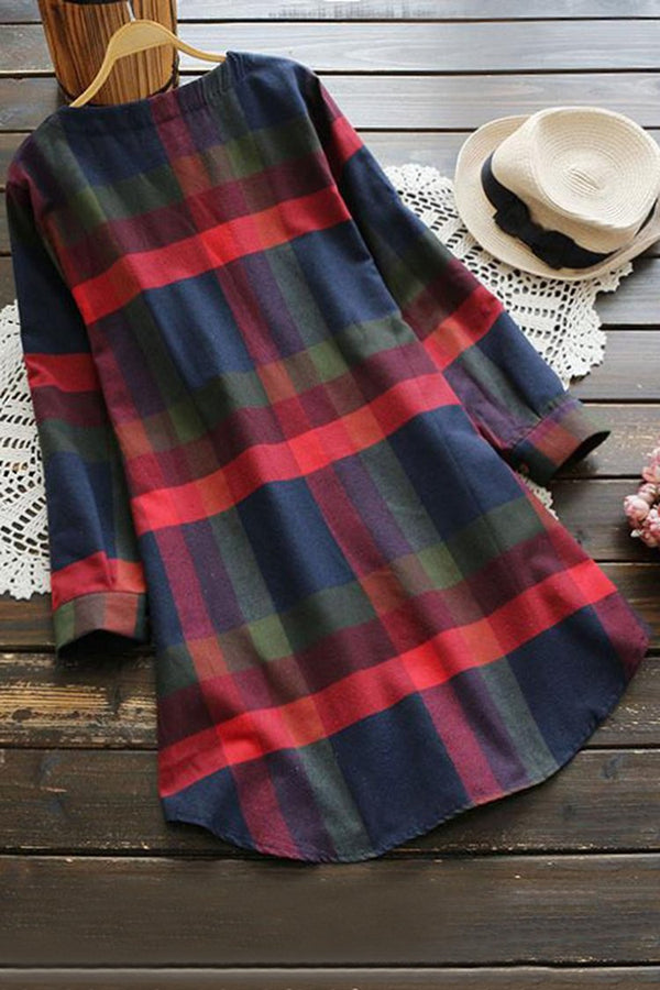 Lady Leisure Plaid Dress