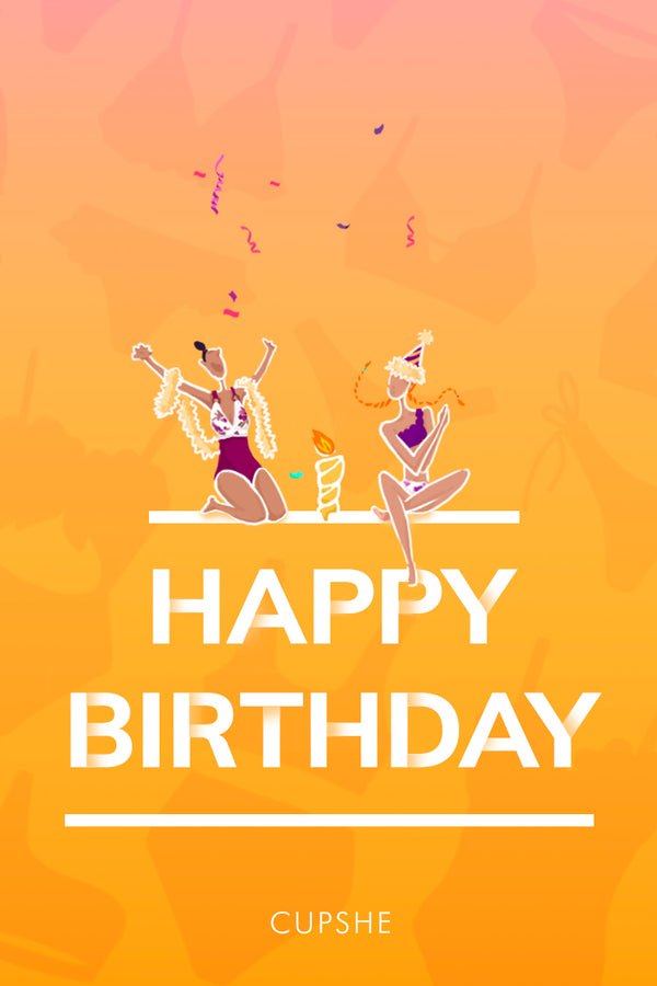 Cupshe AU Happy Birthday E-Gift Card