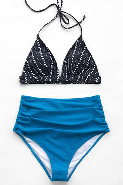 Starry Night High-waisted Bikini