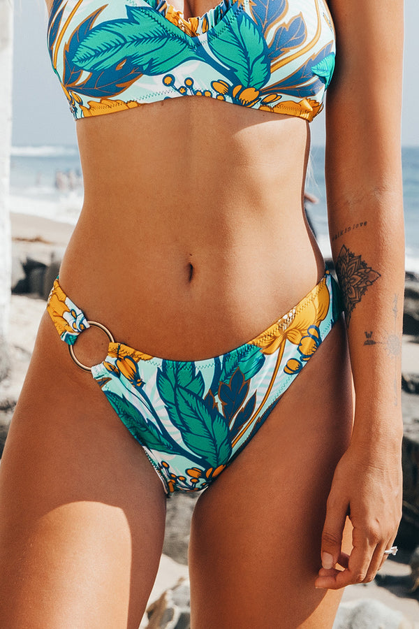 Sunday Morning Floral Bikini Bottom