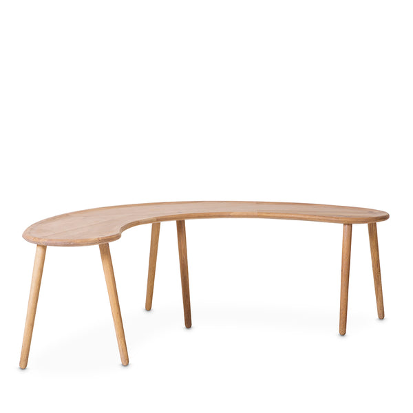 Curved Milk Bench