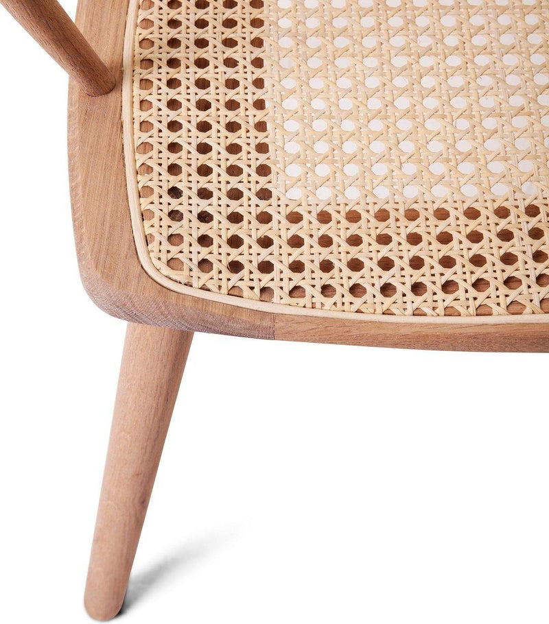 Spindle Back Diner - Rattan