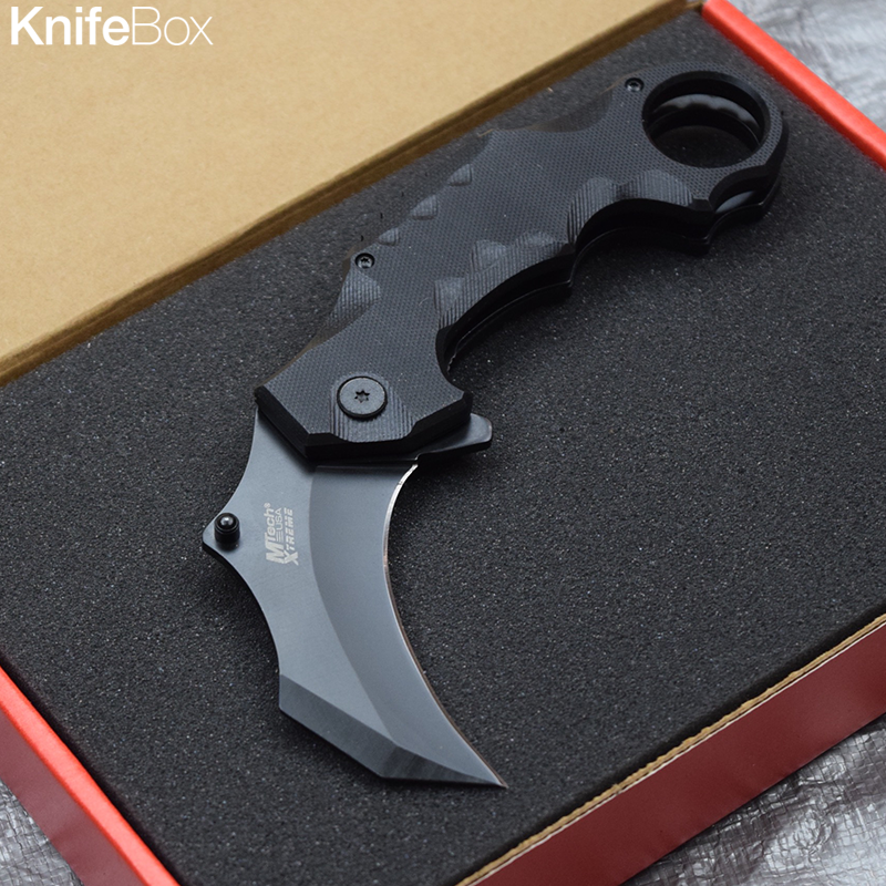 Tactical Spring Assisted Karambit - March Gamers KnifeBox