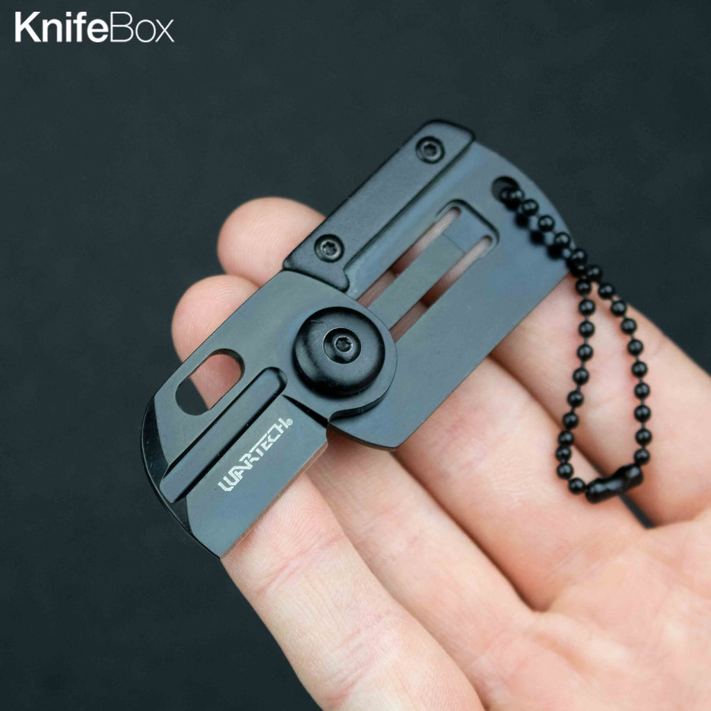 Mini Folding Knife Keychain (Multiple Colors)