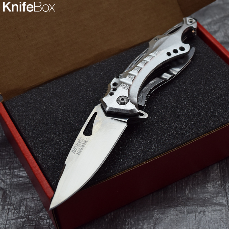 Silver Shark Blade - April KnifeBox