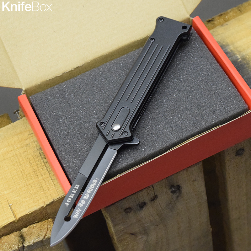 Black Joker Knife