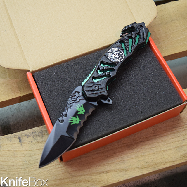 Apocalypse Survivor Folding Knife - December KnifeBox 2016
