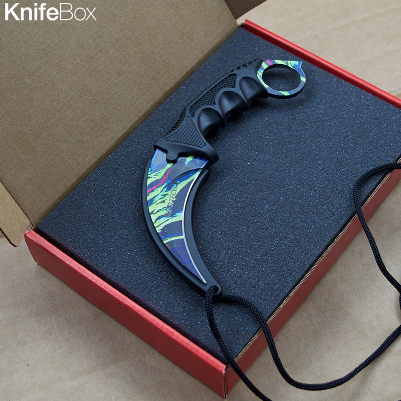 Paint Splash Karambit - May Gamers KnifeBox