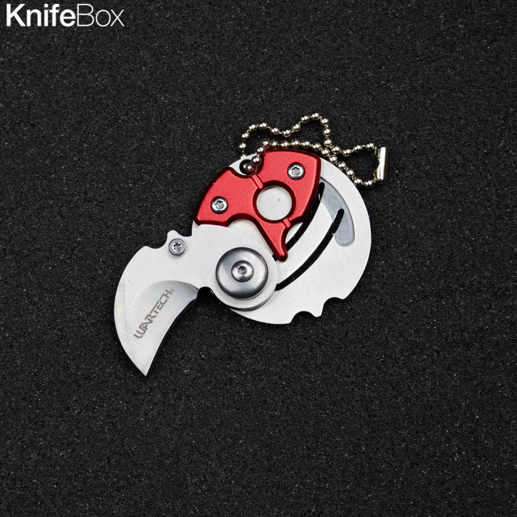 Coin Mini Knife Keychain (Multiple Colors)