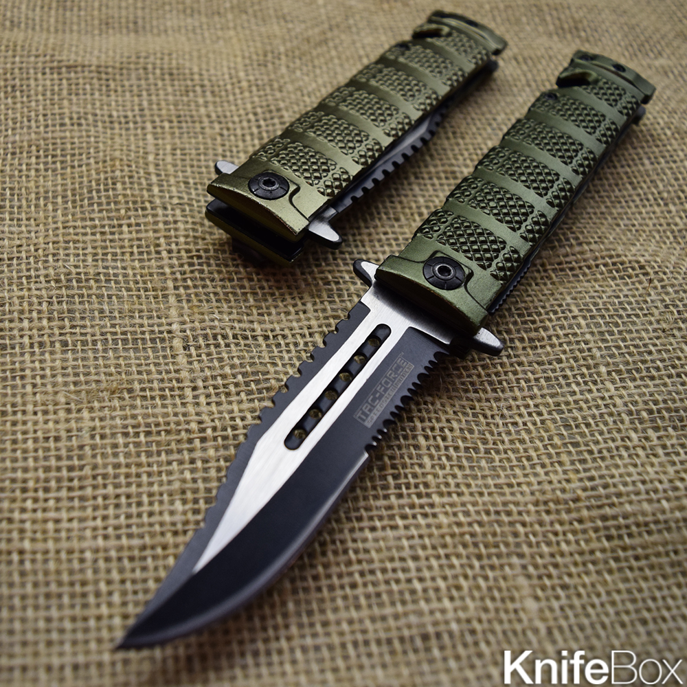 Green Iron Bullet - February KnifeBox 2017