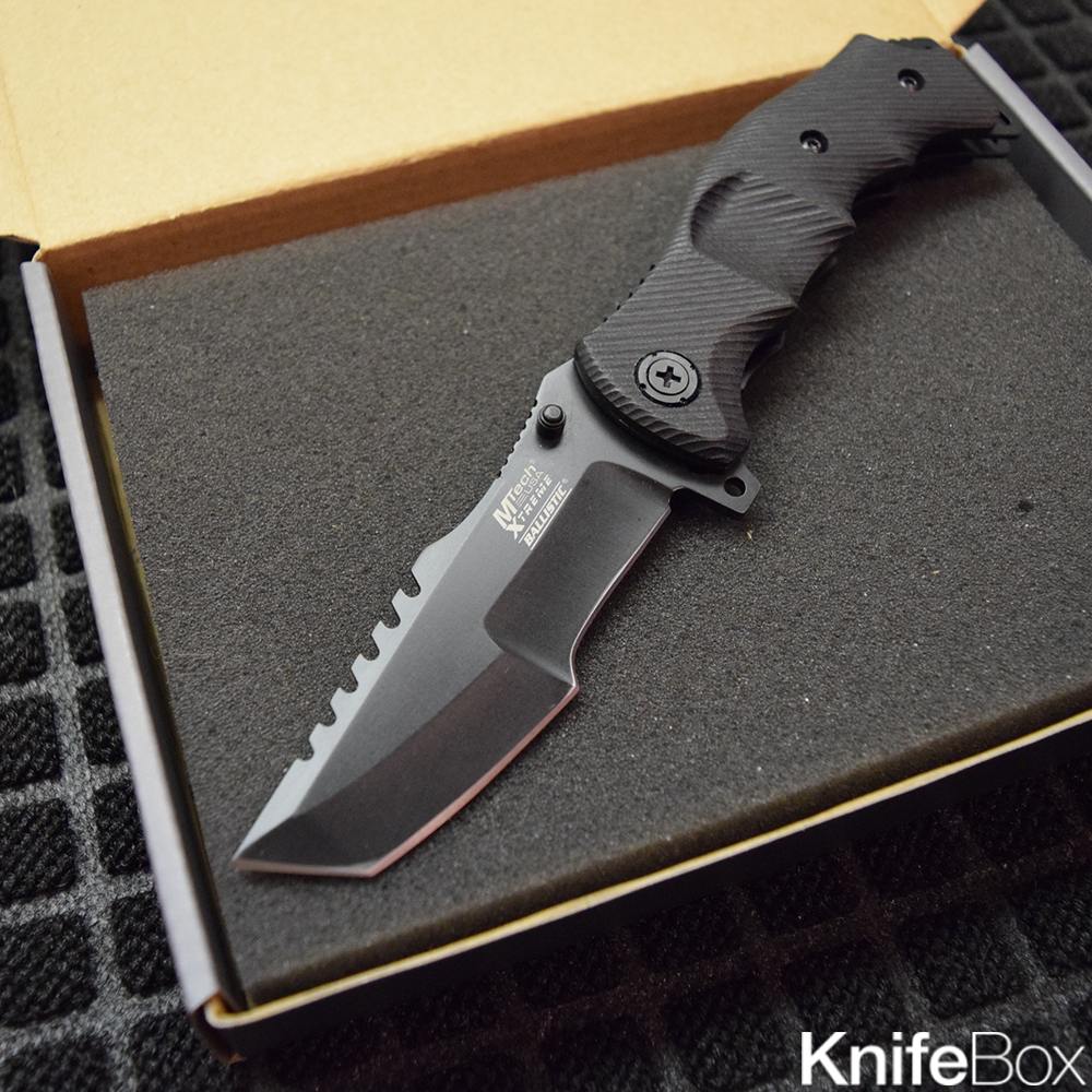 Black G10 Huntsman - February Gamers KnifeBox 2017
