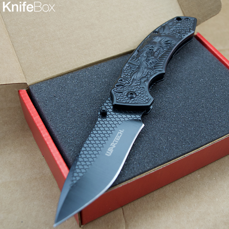 Black Dragon Skin - May KnifeBox
