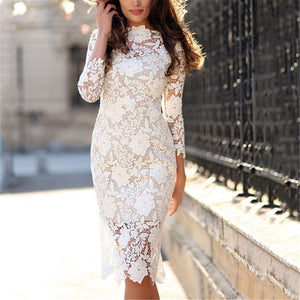 Sexy Lace Cultivate One's Morality Dress