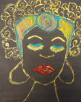 Goddess - A multi-media acrylic on stretched canvas, created by Studio 45