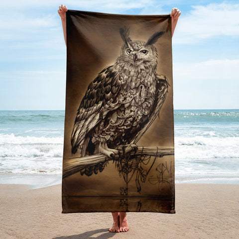 Owl Towel by SPY