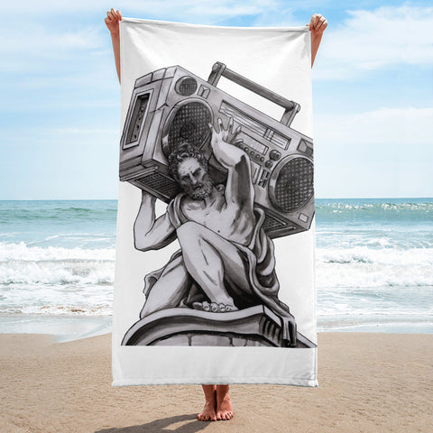 Radio Atlas Towel