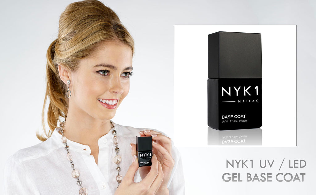 NYK1 Nailac Base Coat Primer foundation gel for nail polish