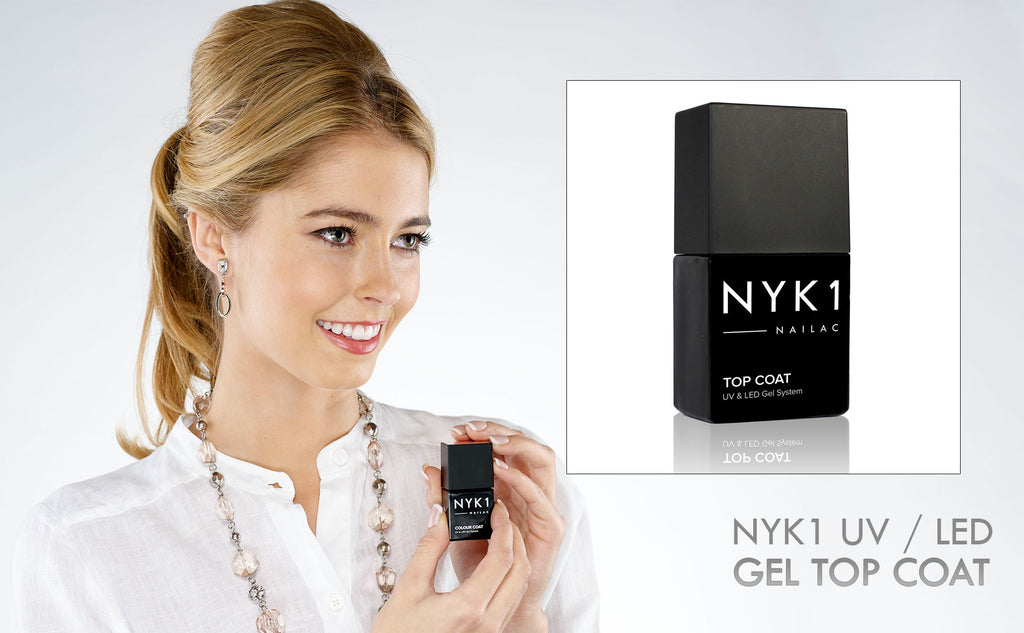 NYK1 Nailac Top Coat Clear Gel Polish Protective Layer Coat