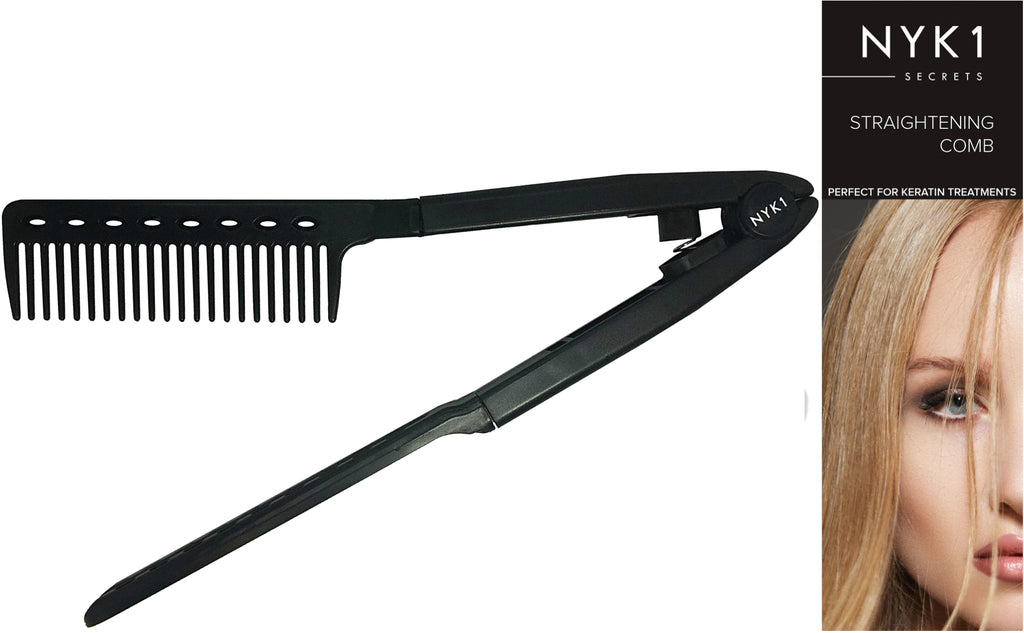 NYK1 Hair Straightening Comb for Keratin Treated Hair