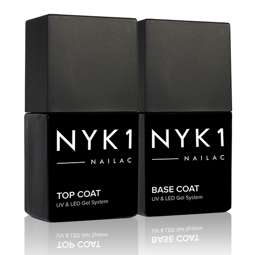 NYK1 Gel Nail Polish Top Coat and Gel Nail Polish Base Coat