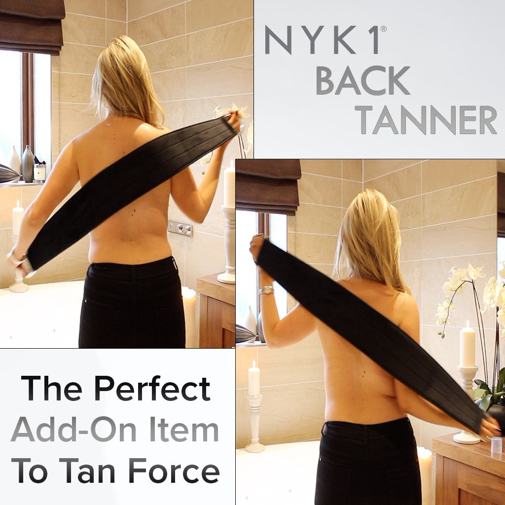 NYK1 Back Tanner Body Mitt Tan Applicator Glove