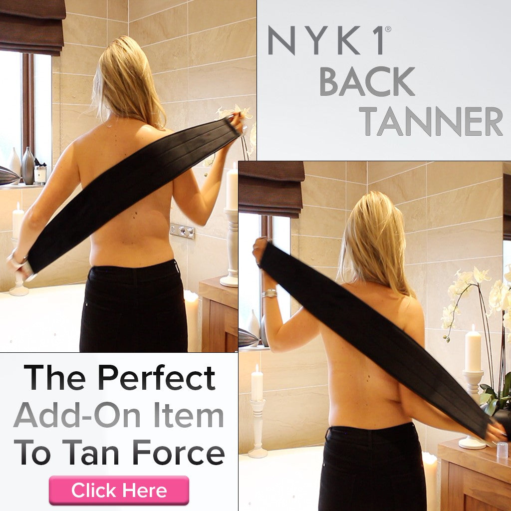 NYK1 Back Tanner Body Tan Mitt