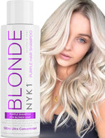 NYK1 Purple Shampoo For Blonde Hair Sulphate Free (500ml)