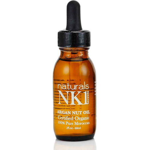 NYK1 Argan Nut Oil 60ml Value Pack - 100% Pure and Organic