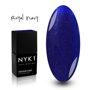 Nailac Royal Blue Sparkle Gel Polish for Nails