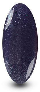 Nailac Indigo Sparkle Purple Gel Polish for nails