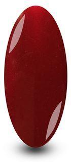 Red Burgundy Gel Nail Polish Smooth Mahogany by NYK1