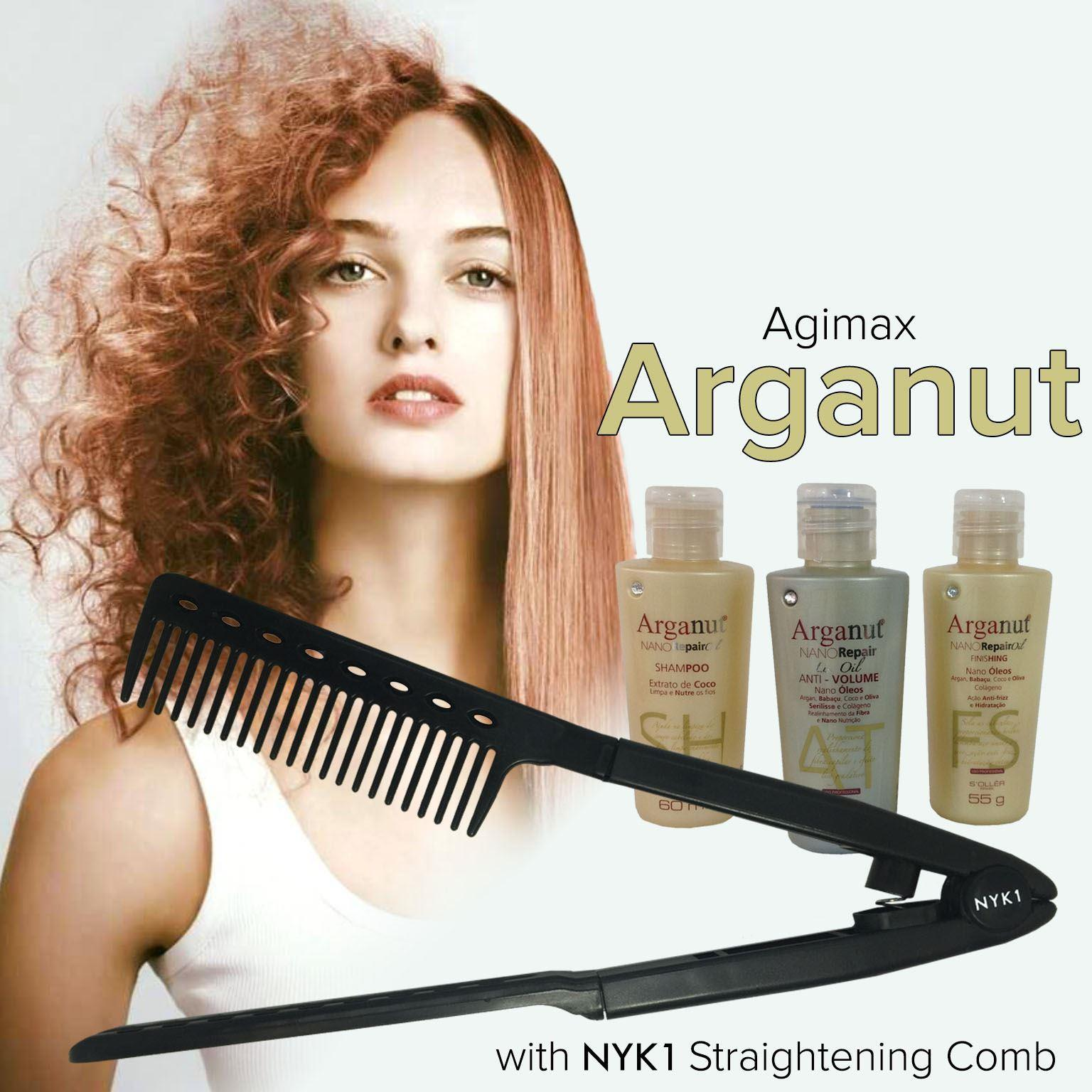 Arganut Gold Hair Keratin Treatment by Agimax