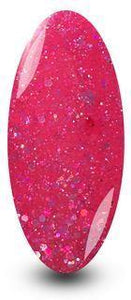 Nailac Pink Diamond Candy Sparkle Glitter Nail Gel Polish