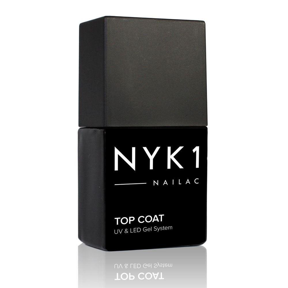 NYK1 Nailac Clear Gel Polish Top Coat