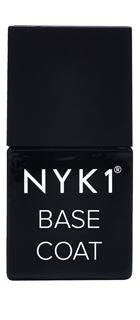 NYK1 Nailac Base Coat clear thick gel polish foundation for a gel nail colour.