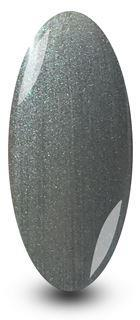 Gun Metal Grey Glitter Gel Nail Polish by NYK1