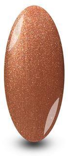 Nailac Sugared Caramel Gold Bronze Glitter Gel Polish for Nails by NYK1