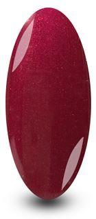 Glitter Masked Queen Red Glitter Gel Nail Polish by NYK1