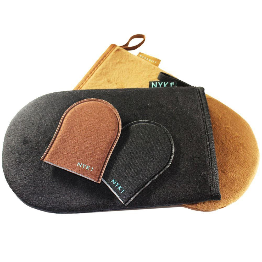 NYK1 Luxury Tanning Mitt MegaMitt Tan Glove (Black or Brown)