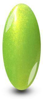Lime Green Zest Glitter Gel Nail Polish by NYK1