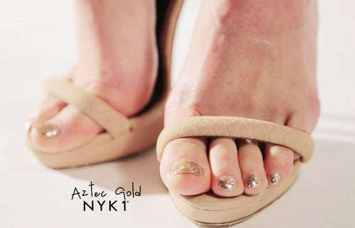 Aztec Gold Gel Nail Polish