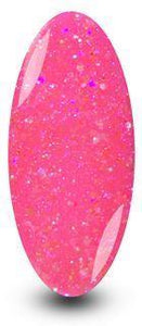 Nailac Diamond Pink Barbie Glitter Nail Gel Polish