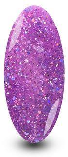 Nailac Lilac Purple Sparkle Glitter Gel Polish