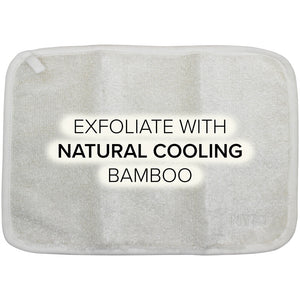 NYK1 Bamboo Face Cloth - Exfoliate with natural cooling bamboo