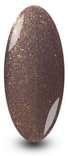 Brown Glitter Mink Shimmer Nail Polish by NYK1