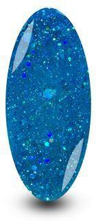 Nailac Diamond Mermaid Blue Gel Nail Polish