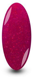 Red Sparkle Gel Nail Polish