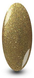 Nailac Gold Glitter Sparkle Nail Gel Polish