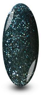 Holly Green Glitter Gel Nail Polish by NYK1