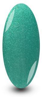Hot Spice Green Sparkle Gel Nail Polish by NYK1